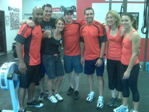 CrossFit Level 1 Certification weekend - a moment with the Elite!!!!